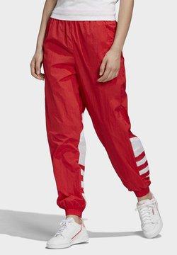 adidas Originals - BIG LOGO TRACKSUIT BOTTOMS - Pantalones deportivos - red