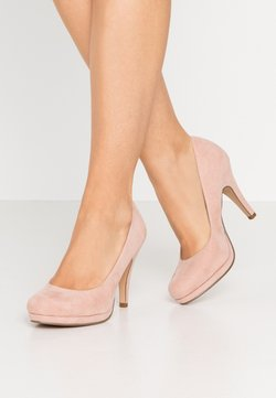 Tamaris - COURT SHOE - High Heel Pumps - rose