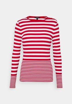 Lauren Ralph Lauren - Langarmshirt - white/lipstick red