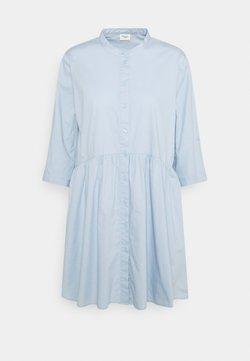 JDY - CAMERON LIFE SHORT DRESS - Vestido camisero - cashmere blue