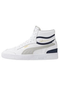 Puma - RALPH SAMPSON - Höga sneakers - white/gray violet/peacoat