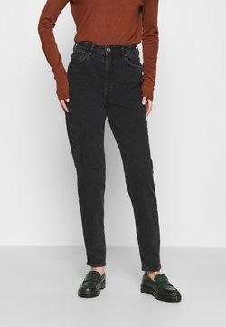 Pieces - PCLEAH MOM  - Slim fit jeans - black