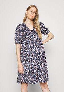 MAMALICIOUS - MLASTRID DRESS - Vestido informal - black/blue