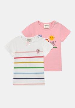 Jacky Baby - COLOUR UP MY LIFE 2 PACK - T-shirt imprimé - light pink/multi-coloured