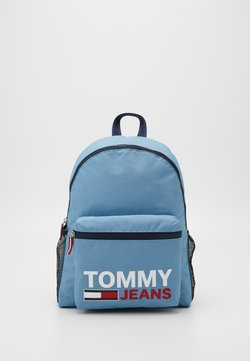 Tommy Jeans - TJM CAMPUS  BACKPACK GRAPHIC - Reppu - blue