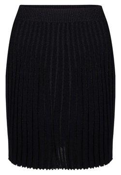 Jacky Luxury - A-lijn rok - black