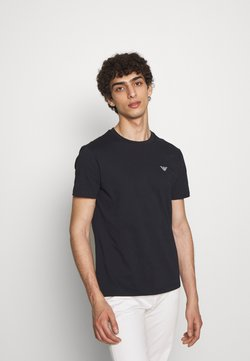 Emporio Armani - Camiseta básica - blu navy