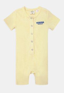 Gina Tricot Mini - MINI BABY - Jumpsuit - transparent yellow