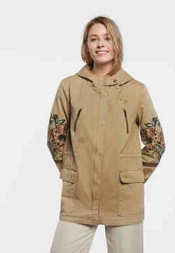 Desigual - CHAQ IGGY POP - Parka - brown
