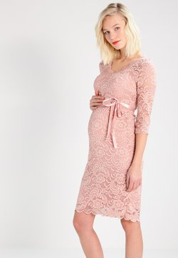 MAMALICIOUS - MLMIVANA DRESS - Sukienka koktajlowa - misty rose