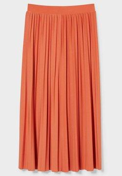 C&A - Spódnica trapezowa - orange-red