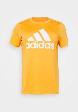 adidas Performance - Printtipaita - mustard yellow
