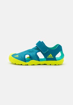 adidas Performance - CAPTAIN TOEY UNISEX - Sandały trekkingowe - acid mint/solar yellow/active teal
