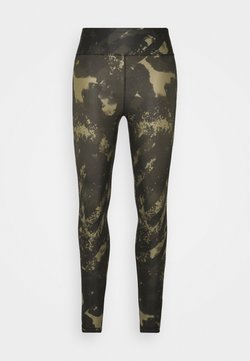 Casall - PRINTED SPORT - Tights - boost green