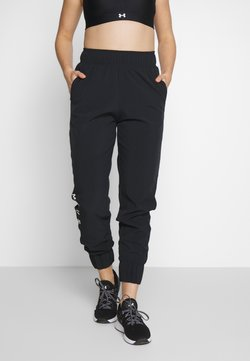Under Armour - GRAPHIC PANTS - Verryttelyhousut - black/onyx white