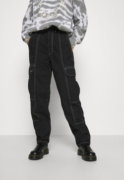 BDG Urban Outfitters - BLAINE - Relaxed fit -farkut - clean black