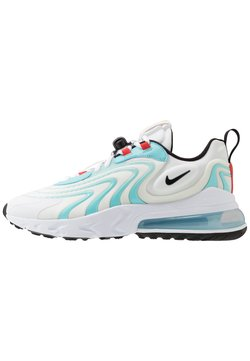 Nike Sportswear - AIR MAX 270 REACT - Baskets basses - white/black/bleached aqua/chile red/speed yellow