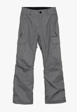 Volcom - CARGO PANT - Snow pants - heather grey