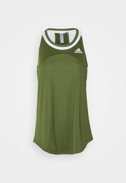adidas Performance - CLUB TANK - Funktionsshirt - wilpin/white