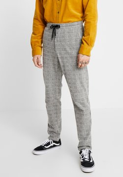 Jack & Jones PREMIUM - JJIWILL JJCHRIS CHECK PANTS - Jogginghose - grey melange