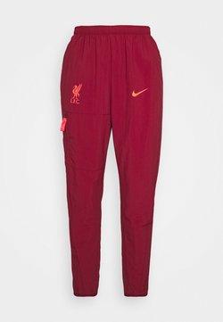 Nike Performance - LIVERPOOL FC PANT - Squadra - team red/bright crimson