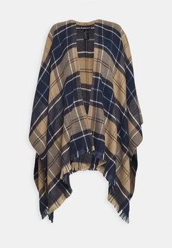 Barbour - STAFFIN TARTAN SERAPE - Poncho - tempest/trench