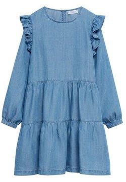 Mango - Jeanskleid - light blue