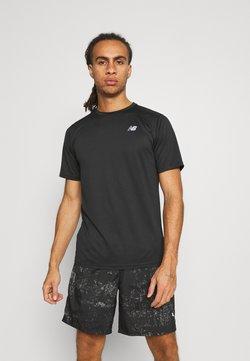 New Balance - ACCELERATE SHORT SLEEVE - T-shirt basique - black