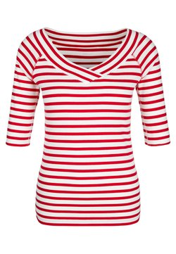 Marc Cain - T-Shirt print - red