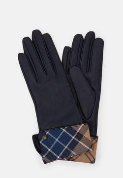 Barbour - LADY JANE GLOVES - Gloves - dark navy/tempest trench
