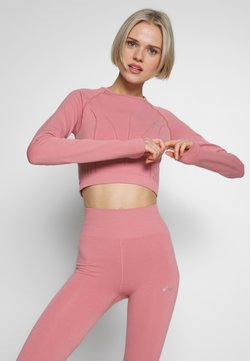 ONLY Play - ONPJAVA CIRCULAR CROPPED - Funktionsshirt - dusty rose