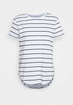 Casa Amuk - SADDLE HEM - T-Shirt basic - off-white