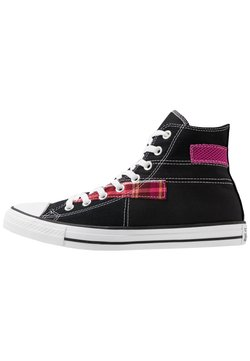 Converse - CHUCK TAYLOR ALL STAR - Sneaker high - black/white/cactus flower