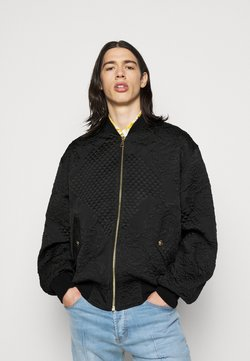 Versace Jeans Couture - MATELASSE BAROQUE  - Giubbotto Bomber - black