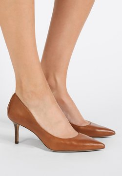 Lauren Ralph Lauren - SUPER SOFT LANETTE - Pumps - deep saddle tan