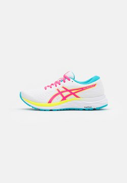 ASICS - GEL-EXCITE 7 - Zapatillas de running neutras - white/safety yellow