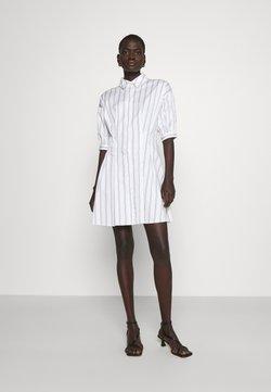Club Monaco - SCULPTURAL DRESS - Blusenkleid - white/multi