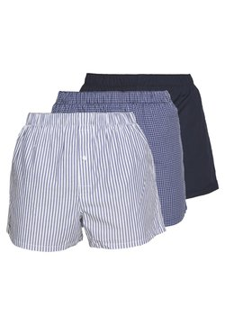 Lacoste - 3Pack - Boxershorts - navy blue/white-tropical