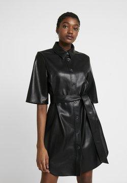 Monki - KARLA DRESS - Robe chemise - black