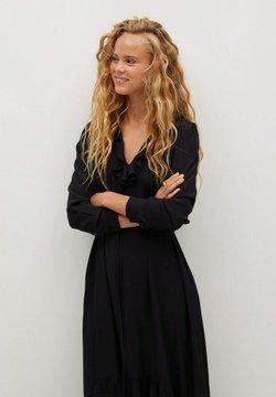 Mango - NOIR - Korte jurk - schwarz