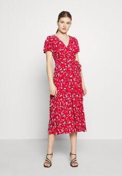 Lauren Ralph Lauren - PRINTED MATTE DRESS - Jerseyklänning - red