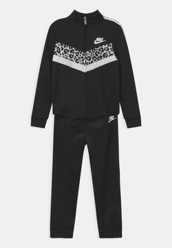 Nike Sportswear - CHEVRON SET - Survêtement - black