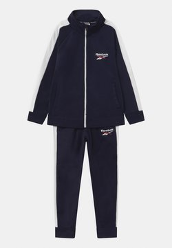 Reebok - HERITAGE POLY SET - Veste de survêtement - navy