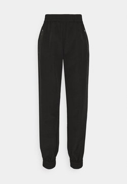 Selected Femme - SLFFLOW PANT - Jogginghose - black
