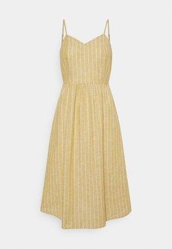 ONLY Petite - ONLVIVIAN-CANYON LONG LIFE DRESS - Vestido informal - golden spice/cloud dancer