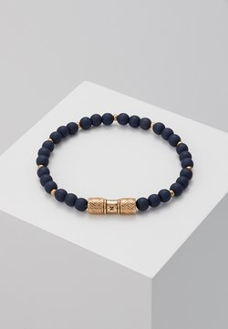 Icon Brand - HERRING BEADED BRACELET - Bracelet - navy