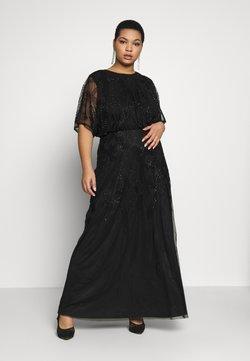 Lace & Beads Curvy - KIARA - Vestido de fiesta - black