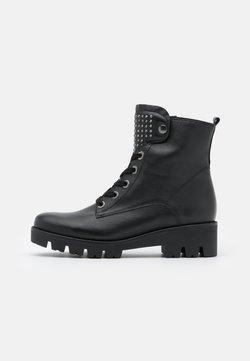 Gabor Comfort - Schnürstiefelette - schwarz