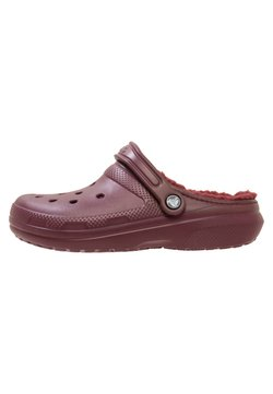 Crocs - Chanclas de baño - burgundy