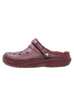 Crocs - Badesandale - burgundy